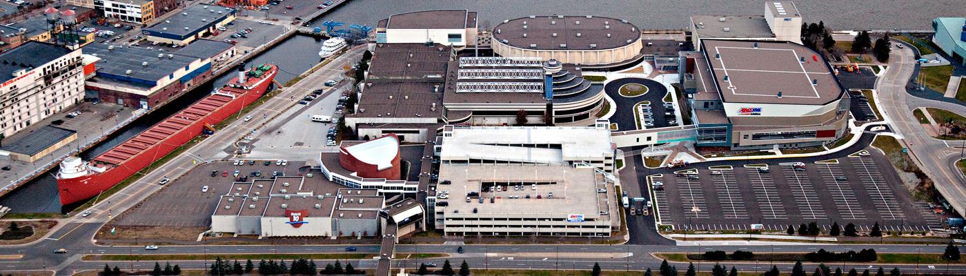Maps amp floor plans duluth entertainment convention center