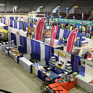 Expo facilities at the DECC
